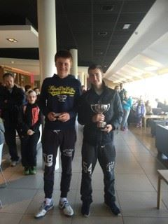 U18 Boys Winner and Finalist