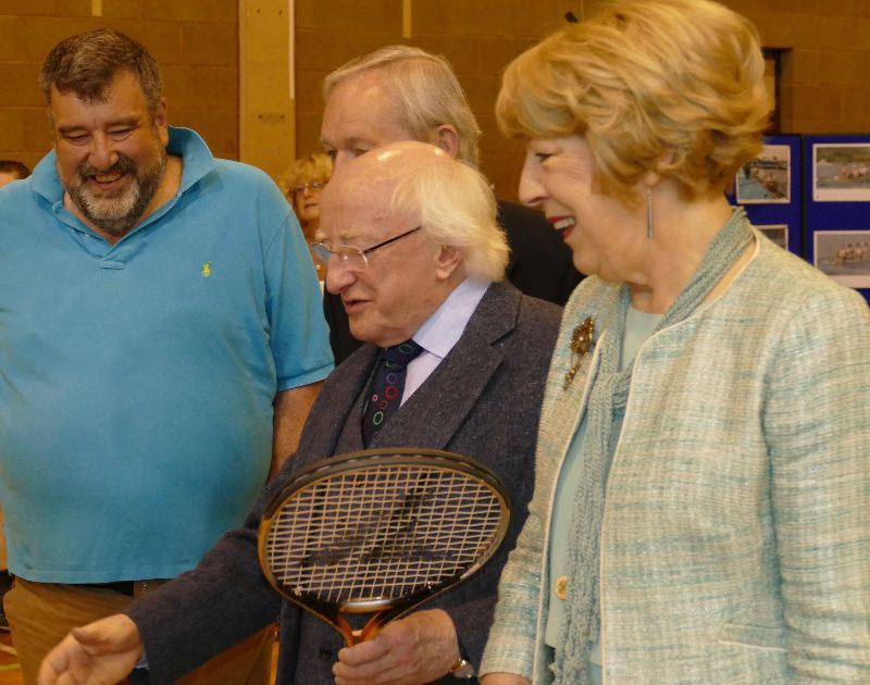 VI Tennis launch at the Vision Sports Ireland MayFest