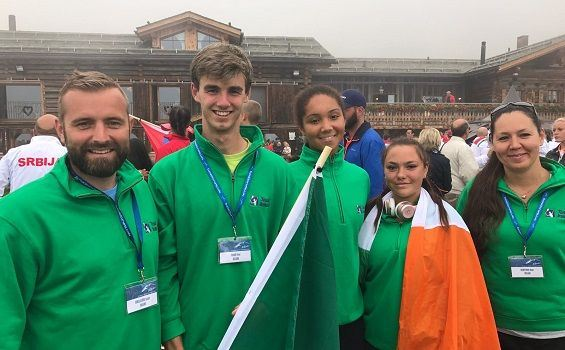 Best of luck at the European Junior Championships & Youth Olympic Festival