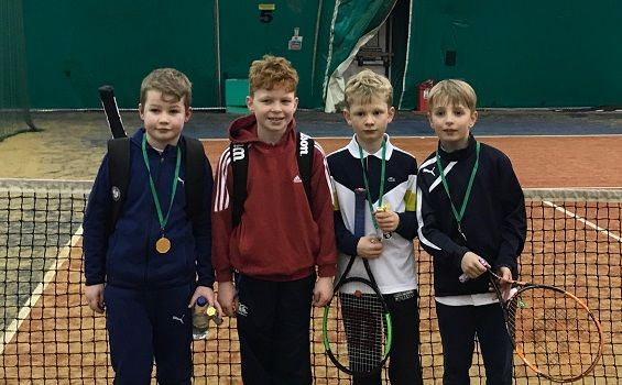Leinster January Tennis10s event