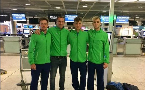 Best of luck to the Irish Davis Cup team in Denmark