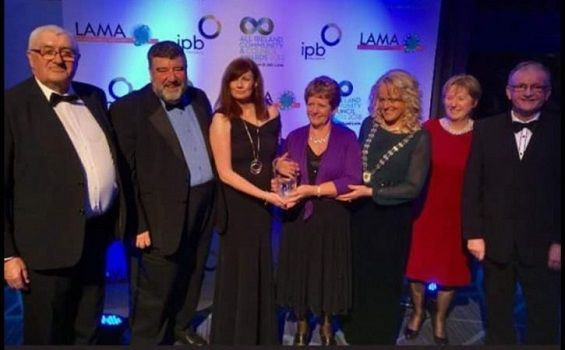 Shankill Tennis Club honoured at National Awards Ceremony